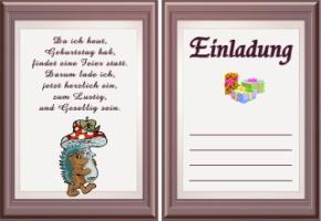 einladungen spruche geburtstag – cloudhash, Einladung