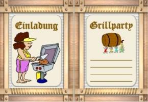 einladungen grillparty vorlagen kostenlos, Einladung
