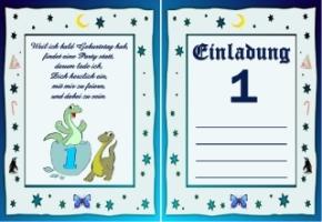 Einladungskarten Kindergeburtstag : Einladungskarten 1 Geburtstag, Kreative  Einladungen . Gutscheine Zum Ausdrucken Kostenlos