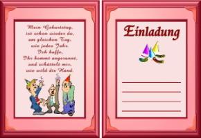 Einladungskarten geburtstag text 12