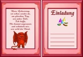 einladungskarten geburtstag 18 vorlagen gratis | katrinakaif, Einladung