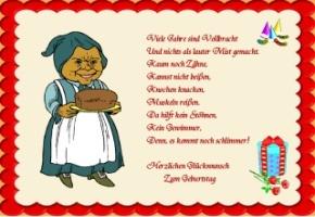 Gedichte Geburtstag Karten