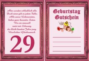 29 Geburtstag Spruche Gluckwunsche Zum 29igsten