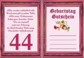 Gluckwunsche Zum 44 Geburtstag Lustig Erwachsen