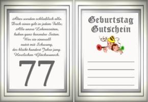 Geburtstag Für Oma Zum 77 Gedichte
