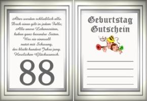 Geburtstag 88 jahre