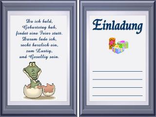 Lustige Einladungen Geburtstag Texte Kostenlos