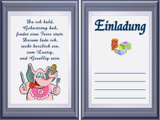 Scriptaculum U2013 Onconnect, Einladung. Lustige Einladungskarte Zum Essen: ...