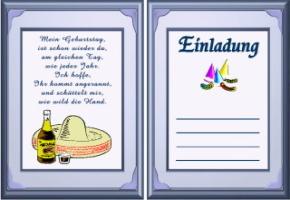 coole einladungskarten geburtstag – cloudhash, Einladungen