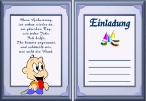 Lustige Einladungskarten Geburtstag