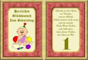 Lustige Geburtstag Wünsche 1 Jahr Kostenlos Ausdrucken