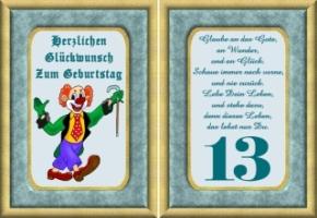 Lustige Geburtstag Wünsche 13 Jahre Kostenlos Ausdrucken