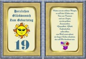 Lustige Geburtstag Wunsche 19 Jahre Kostenlos Ausdrucken