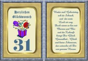 Lustige Geburtstag Wünsche 31 Jahre Kostenlos Ausdrucken