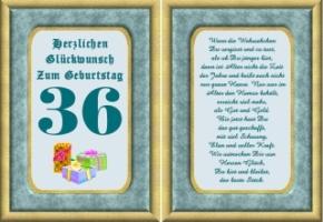 Lustige Geburtstag Wünsche 36 Jahre Kostenlos Ausdrucken