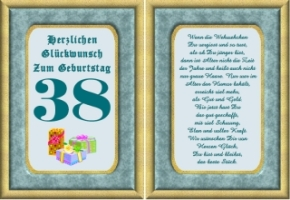 Lustige Geburtstag Wünsche 38 Jahre Kostenlos Ausdrucken
