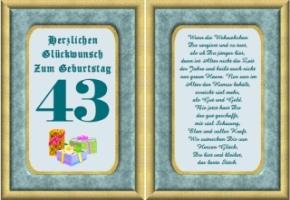 Lustige Geburtstag Wünsche 43 Jahre Kostenlos Ausdrucken