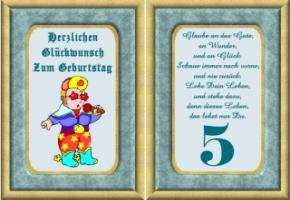 Lustige Geburtstag Wunsche 5 Jahre Kostenlos Ausdrucken