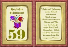 zum 59 geburtstag sprüche