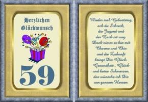 Lustige Geburtstag Wünsche 59 Jahre Kostenlos Ausdrucken