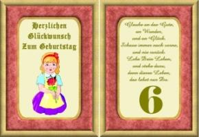 Lustige Geburtstag Wünsche 6 Jahre Kostenlos Ausdrucken
