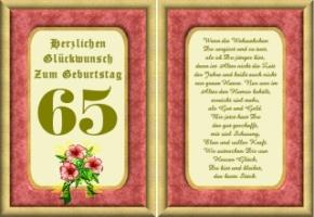 Lustige Geburtstag Wünsche 65 Jahre Kostenlos Ausdrucken