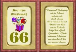 Schone Geburtstagsspruche Zum 66 Gloriarerelist Blog