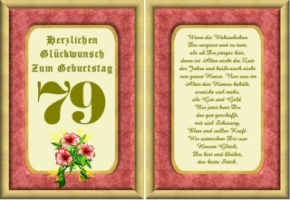 Lustige Geburtstag Wünsche 79 Jahre Kostenlos Ausdrucken