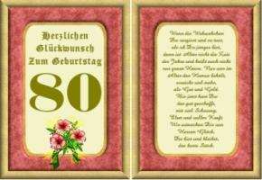 Lustige Geburtstag Wünsche 80 Jahre Kostenlos Ausdrucken