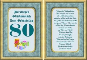 Geburtstagswünsche 80 Jahre   1