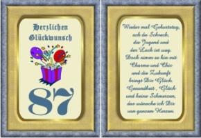 Lustige Geburtstag Wünsche 87 Jahre Kostenlos Ausdrucken