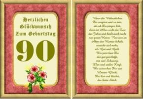 Lustige Geburtstag Wünsche 90 Jahre Kostenlos Ausdrucken