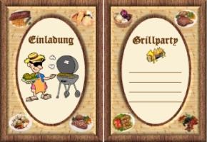 vorlagen einladungskarten grillparty kostenlos, Einladung